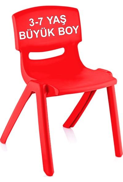 Banadabul Fiore Büyük Şirin Çocuk Sandalyesi Kırmızı 3-7 Yaş İçin
