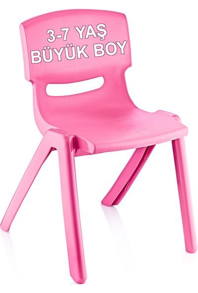 Banadabul Fiore Büyük Şirin Çocuk Sandalyesi Pembe 3-7 Yaş İçin