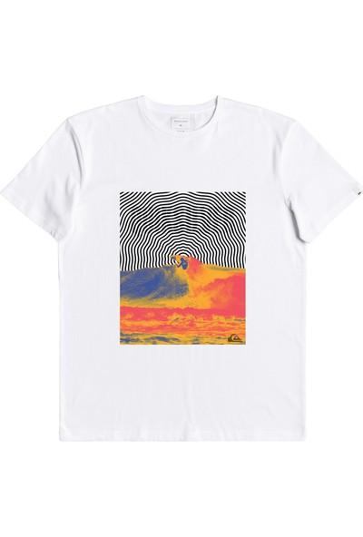 Quiksilver Pressuredropss M Outdoor Erkek T-Shirt