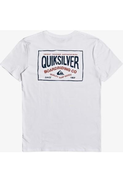 Quiksilver Cloudcornerss M Spor Erkek T-Shirt