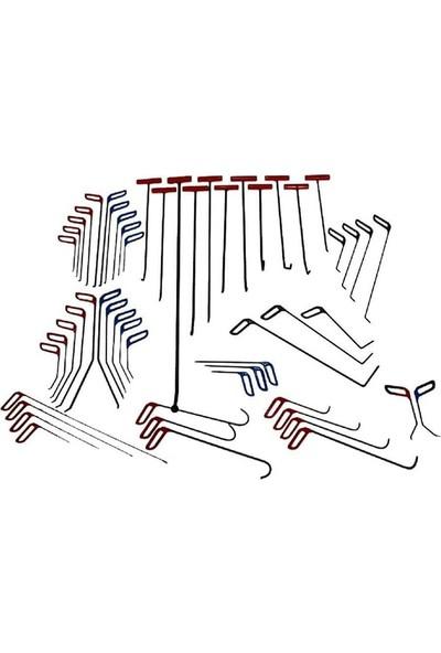 ByDENT Pdr Boyasız Göçük Düzeltme 54 Parça Pro Çubuk Seti