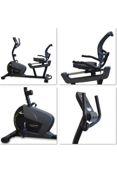 Dynamic R980 Plus Manyetik Yatay Bisiklet