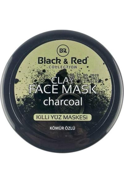 Black Red Kömür Özlü Kil Maskesi - 400 ml