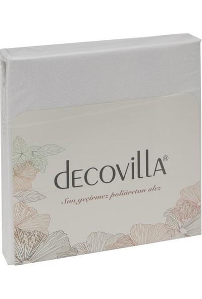 Decovilla 70 x 140 cm Pamuklu Bebek Alezi Fitted Sıvı Geçirmez