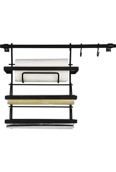 Akın Lux ALM255 Üçlü Folyoluk Set Siyah