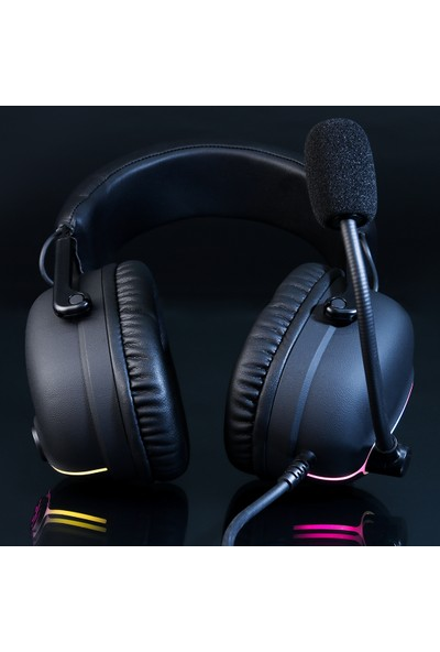 Rush TUSSLE RHX71 USB 7.1 Surround RGB Oyuncu Kulaklık