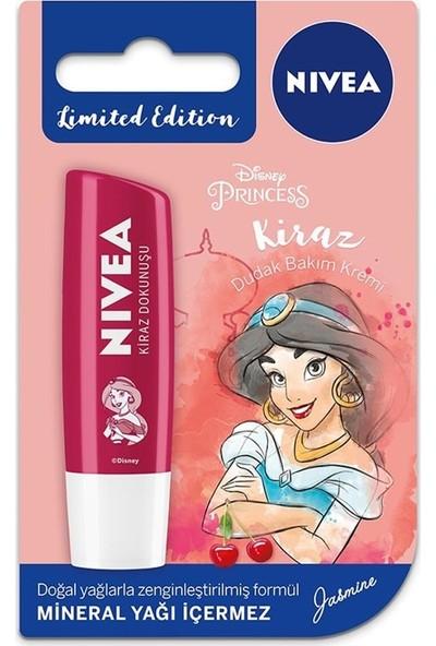 Nivea Disney Princess Kiraz Dudak Bakım Kremi 4,8 gr