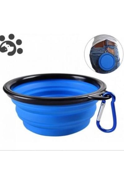 Georplast Katlanabilir Kedi Köpek Mama ve Su Kabı 350 ml