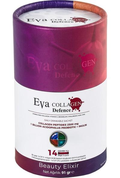 Eva Collagen - Hidrolize Hyaluronic Acid Kolajen - 14 Günlük Kullanım - Böğürtlen Aromalı
