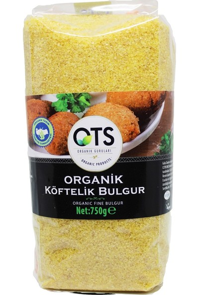 OTS Organik Köftelik Bulgur 750 gr