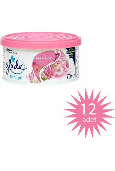 Glade All Joy Floral Perfection 70 GR/30TR 12 Adet