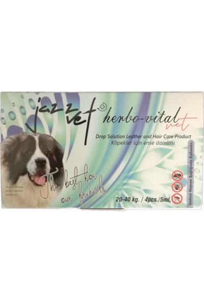 Jazz Vet Köpek Bit Pire Ense Damlası 4 x 5 ml