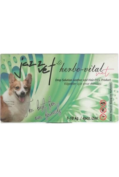 Jazz Vet Köpek Bit Pire Ense Damlası Güçlü Etki 4 x 2 ml