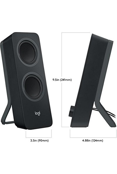 Logıtech Z207 10W 1+1 Bluetooth Stereo Oem Speaker 980-001294