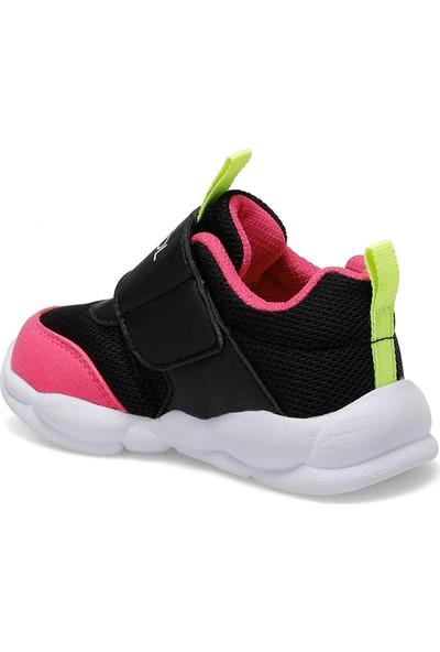 I Cool Joseph Siyah Kız Çocuk Yürüyüş Ayakkabısı
