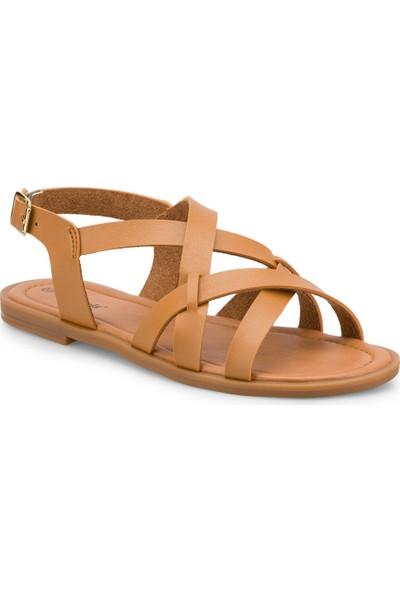 Polaris 315288.Z Taba Kadın Sandalet