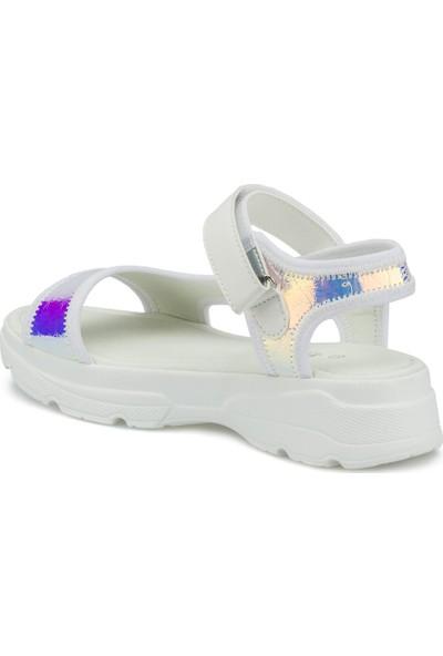 Polaris 315501C.Z Beyaz Kadın Sandalet