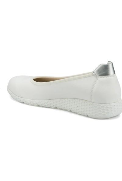 Travel Soft Trv1606.Z Beyaz Kadın Ayakkabı