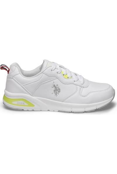 U.S. Polo Assn. Voya Beyaz Kadın Sneaker Ayakkabı