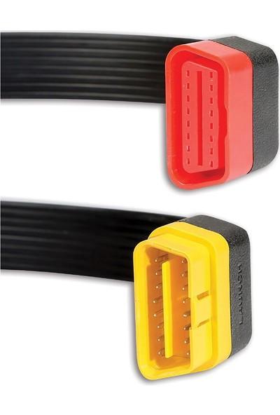 Oto Eko Launch Uzatma Kablosu 30 Cm OBD2 Flat Kablo Easydiag 3.0 Golo Carcare M-Diag