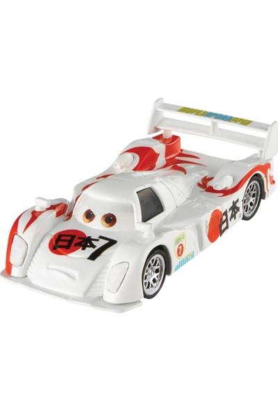 Disney Pixar Cars 3 Shu Todoroki 1:55 Diecast Karakter Araba FLM09