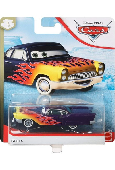 Disney Pixar Cars 3 Tekli Karakter Araçlar Greta GBV61