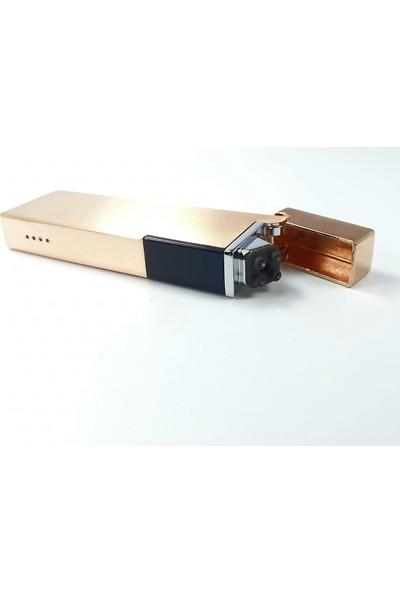 Silvio Monetti Sm 1904BK USB Şarjlı Elektronik Elektrikli Çakmak