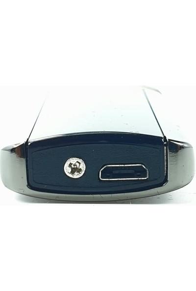 Silvio Monetti Sm 1918GR USB Şarjlı Elektronik Elektrikli Çakmak