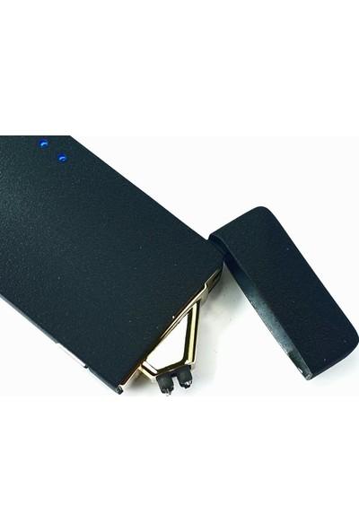 Silvio Monetti Sm 1912BL USB Şarjlı Elektronik Elektrikli Çakmak
