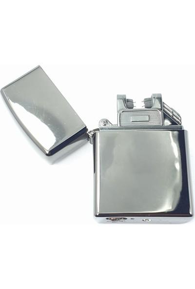 Silvio Monetti Sm 1916GR Zippo USB Şarjlı Elektronik Elektrikli Çakmak