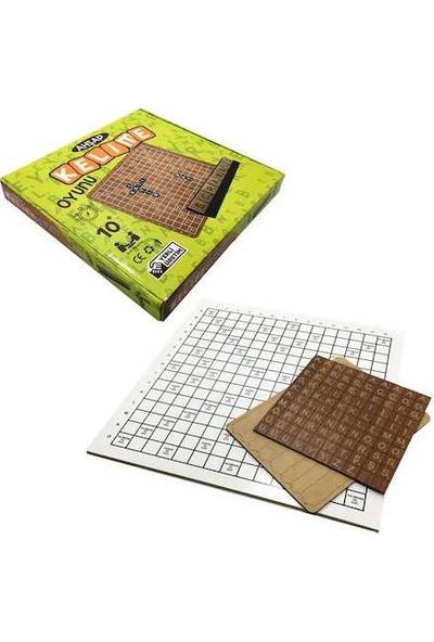 Elif İş Eğitimi Ahşap Kelime Oyunu Scrabble - Strateji Oyunu