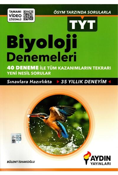 Aydın Yayınları Tyt Biyoloji Denemeleri 40 Deneme