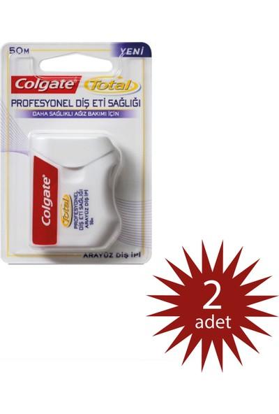 Colgate Diş Ipi - Optik Beyaz 50MT 2 Adet