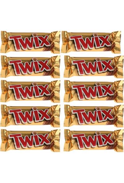 Twix Çikolata 50 gr x 10'lu