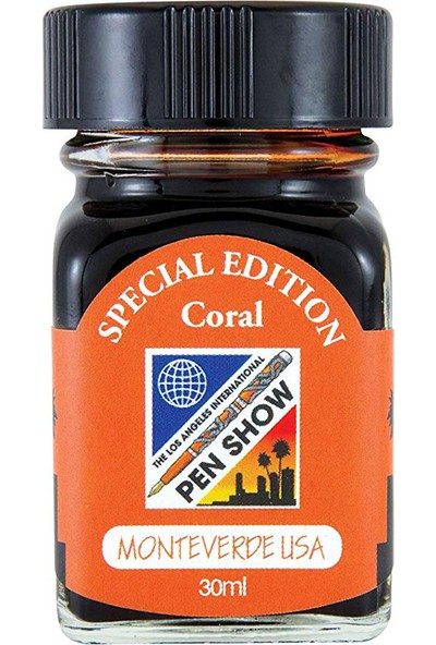 Monteverde G309LA Şişe Mürekkep 30 ml Coral