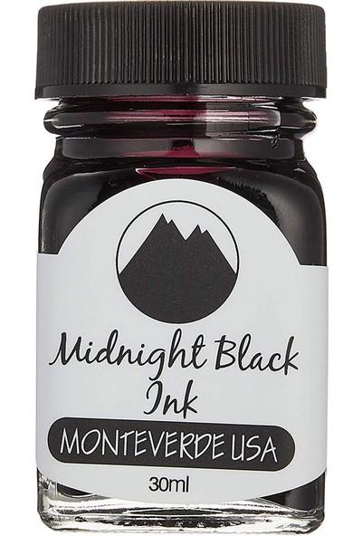 Monteverde G309MB Şişe Mürekkep 30 ml Midnight Black