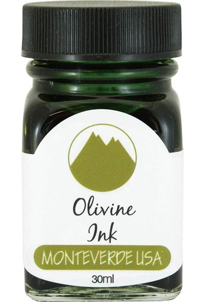 Monteverde G309OL Şişe Mürekkep 30 ml Olivine