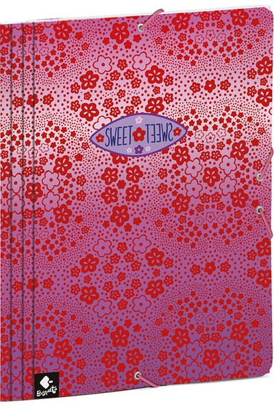 Busquets 20068092800 Sweet Yumuşak Kapak Lastikli Dosya