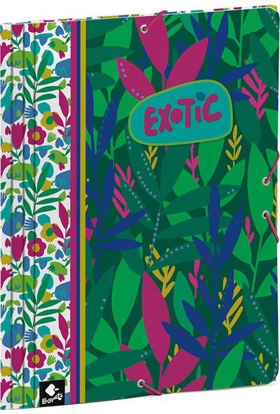 Busquets 20068092900 Exotic Yumuşak Kapak Lastikli Dosya