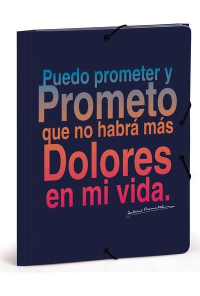 Busquets 20768050400 Dolores Promesas Yumuşak Kapaklı Dosya