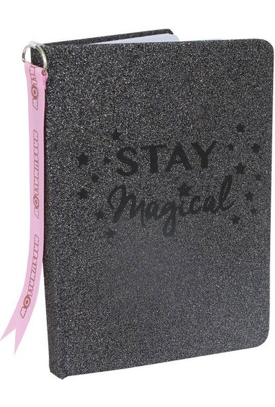 Marshmallow 62902 Glitter Sparkle In Green A5 Defter
