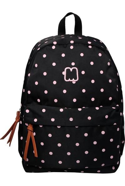 Marshmallow 63105 Dots Black Sırt Çantası
