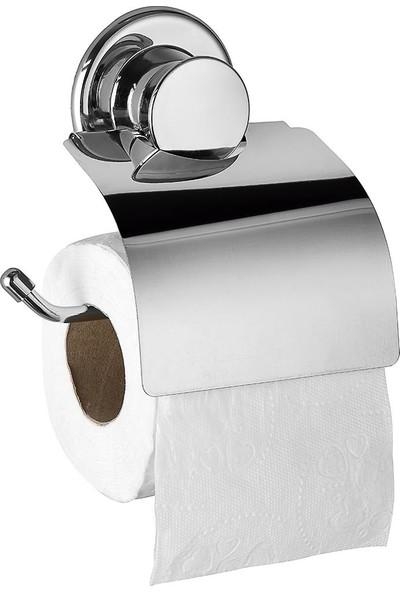 Abay Yapışkanlı Tuvalet Kağıtlığı Krom