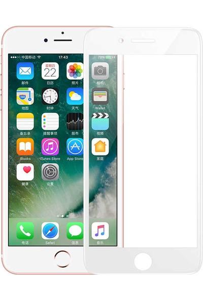 Benks Apple iPhone 8 Plus V Pro Ekran Koruyucu Beyaz
