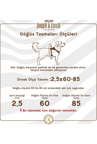 Doggie Konforlu Dokumadan El Yapımı Ronin Model Köpek Göğüs Tasması