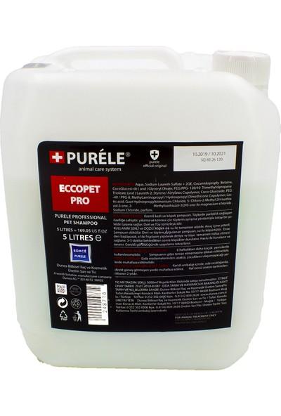 Purele Ecoopet Ekonomik Pet Bakım Şampuanı 5000 ml