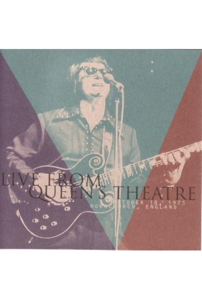 Roy Orbison - Live From Queen Theatre CD