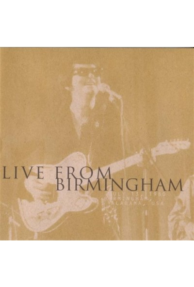 Roy Orbison - Live From Birmingham CD