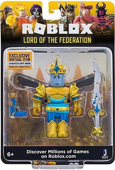 Jazwares Roblox Yıldız Seri Figür S4 Lord Of The Federation
