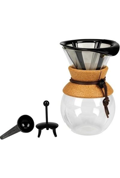 Bodum Pour Over 8 Cup ve Metal Filtre Bodum